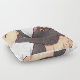 cat : huuh Floor Pillow