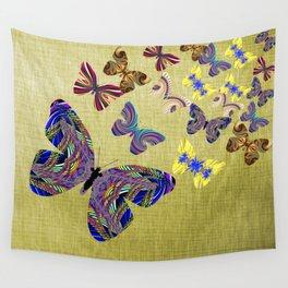 Flight Of The Butterflies Wall Tapestry