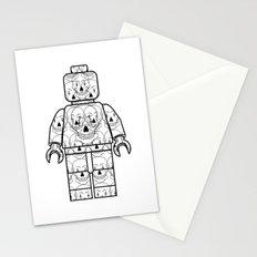 Skull-Brick Stationery Cards