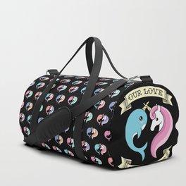 Unique love Duffle Bag