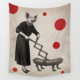 Anthropomorphic N°17 Wall Tapestry