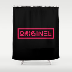 Originel rouge Shower Curtain