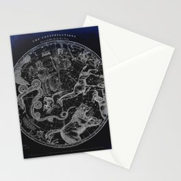 NY, Constellations Stationery Cards