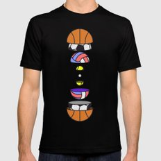 Big Balls Black MEDIUM Mens Fitted Tee