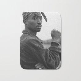 Tup-ac Shakur 2-Pac Rap Music Rapper Star Bath Mat