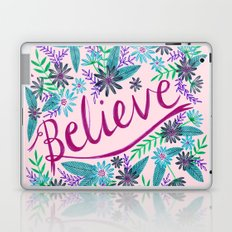 Believe! - Pink Laptop & iPad Skin