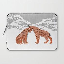 Lynx - Winter Forest Laptop Sleeve