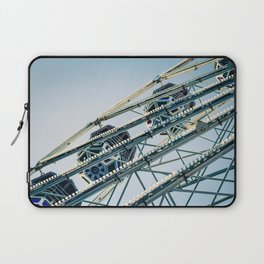 Ferris Wheel Blues Laptop Sleeve