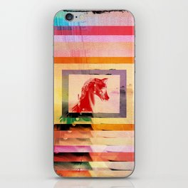 Rainbow Horse iPhone Skin