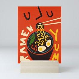 Yum Ramen Mini Art Print