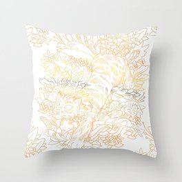 Jungle Cat Throw Pillow