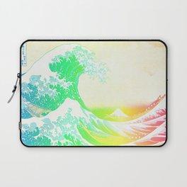 The Great Wave Rainbow Laptop Sleeve