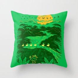 Apocalypse Now : Reducks Throw Pillow