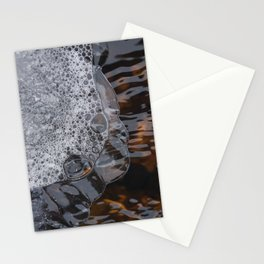 Abstract face. Stationery Cards