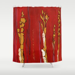 Playful Lines Shower Curtain