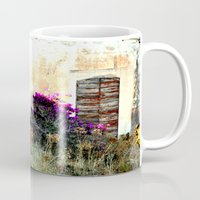 doors Mugs featuring doors by  Agostino Lo Coco