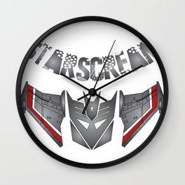 Starscream Decepticon logo Wall Clock