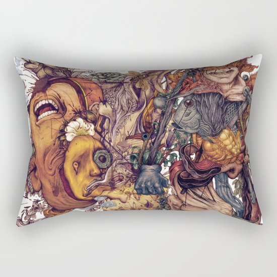 seam imaginations No.2 Rectangular Pillow
