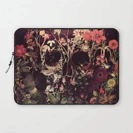 Bloom Skull Laptop Sleeve