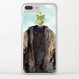 "Jason Vorhees in ""The Son of a Man"" Clear iPhone Case"