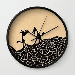 - la rencontre - Wall Clock