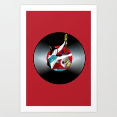 Geisha: Mistress of Rock Art Print