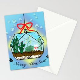 Cactus Terrarium Christmas Gift Stationery Cards