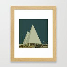 Block 51 Framed Art Print