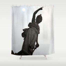 SUN POINT Shower Curtain