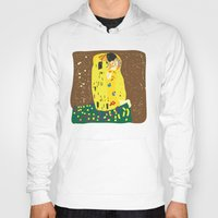 gustav klimt Hoodies featuring klimt by John Sailor