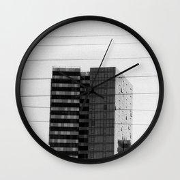 Crosswires Wall Clock