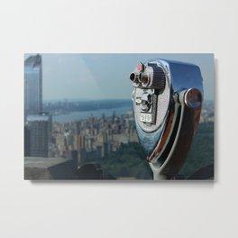 new york city ... distant view I Metal Print