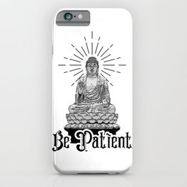 Lead Haste to Waste iPhone Case