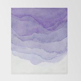 Lavender Flow Throw Blanket