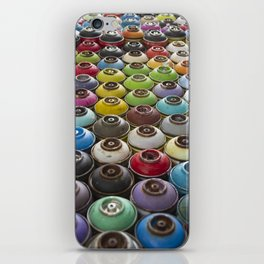 Spray Paint Can Graffiti Wall Covering iPhone Skin