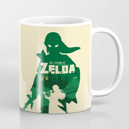 The legend of Zelda minimalist art Coffee Mug