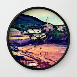 Doc Martin's House at Portwenn Wall Clock