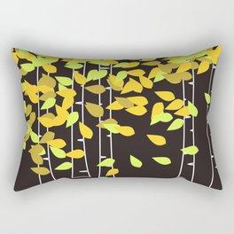 Autumn Birches Rectangular Pillow