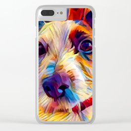 Jack Russell Terrier 2 Clear iPhone Case
