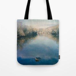Monocacy River Square Tote Bag