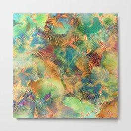 Hibiscus Trumpets #1 Metal Print