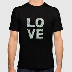 A Four Letter Word Black Mens Fitted Tee MEDIUM