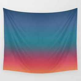 Hiroyoshi - Abstract Classic Design Color Gradient Wall Tapestry