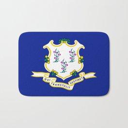 Musical State Flag of Connecticut Bath Mat