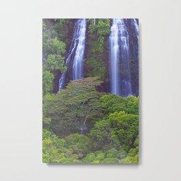 Opaekea'a Falls - Kauai  Metal Print
