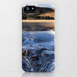 Loch on the rocks. iPhone Case