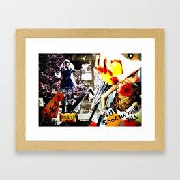 Rock it Framed Art Print