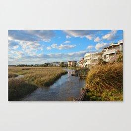 Coastal Marshes Canvas Print