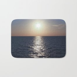 Sunset, Santorini Bath Mat