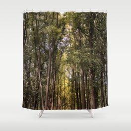 Light Tunnel Shower Curtain